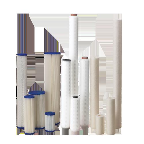 Filterkerzen – Sediment