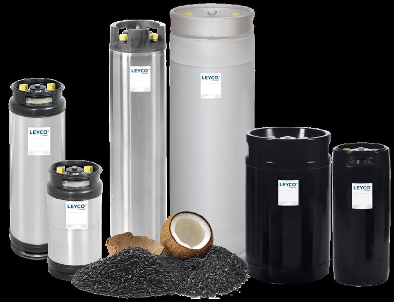 LEYCO Wassertechnik - Aktivkohlefilter KK
