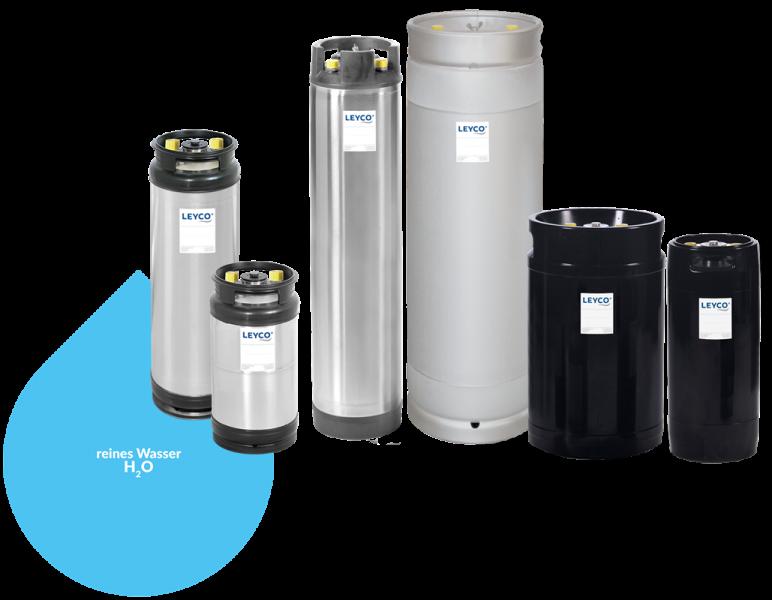 LEYCO Wassertechnik - Ionenaustauscher Vollentsalzung