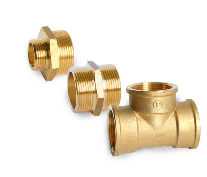 Leyco Wassertechnik - Gewindefittinge Messing