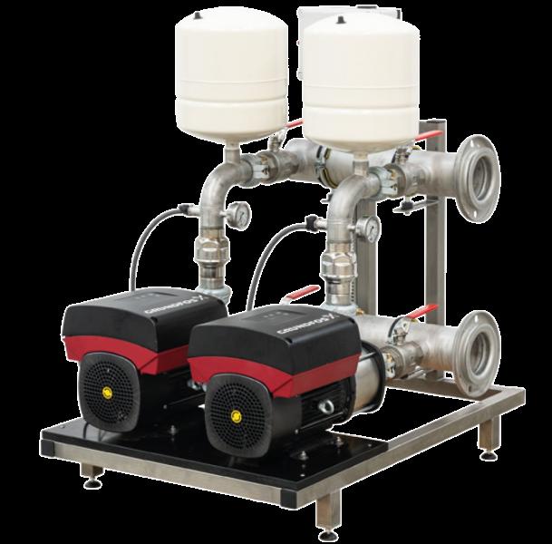 Leyco Wassertechnik - Druckerhöhung